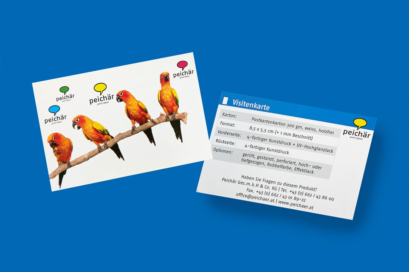 Visitenkarten Drucken Lassen Auch Mit Veredelung Oder Als