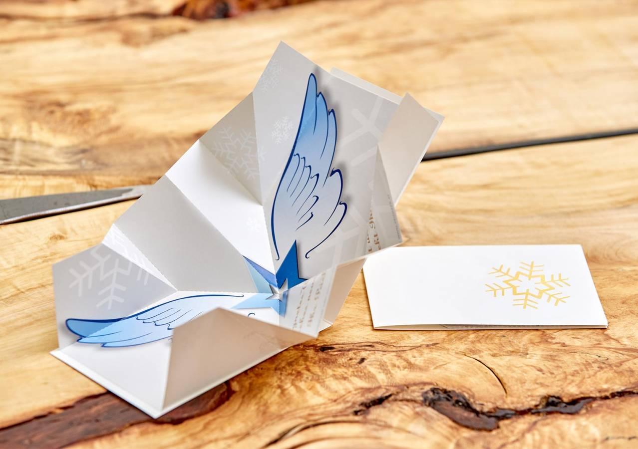 Weihnachtskarten Origami.Pop Up Weihnachtskarten Der Besondere überraschungseffekt